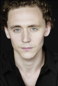 Tom Hiddleston showing off his menacing stare.