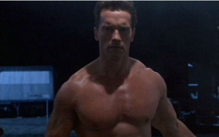 naked arnold from terminator Altaic