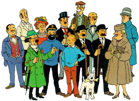 The_Adventures_of_Tintin_Cast