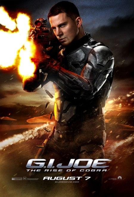 GI Joe The Rise of Cobra movie poster - DUKE