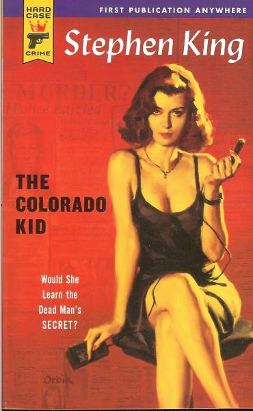 book cover of The Colorado Kid by Stephen King