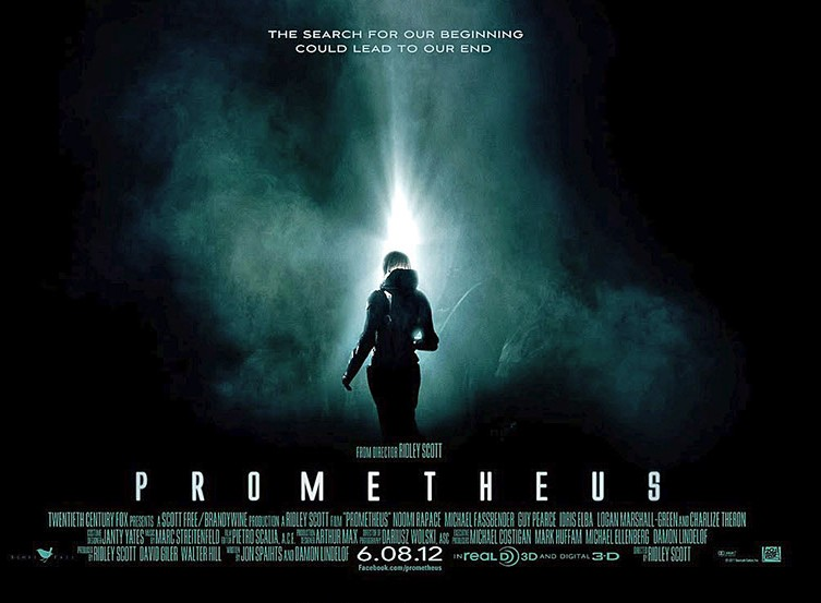 Image result for prometheus poster